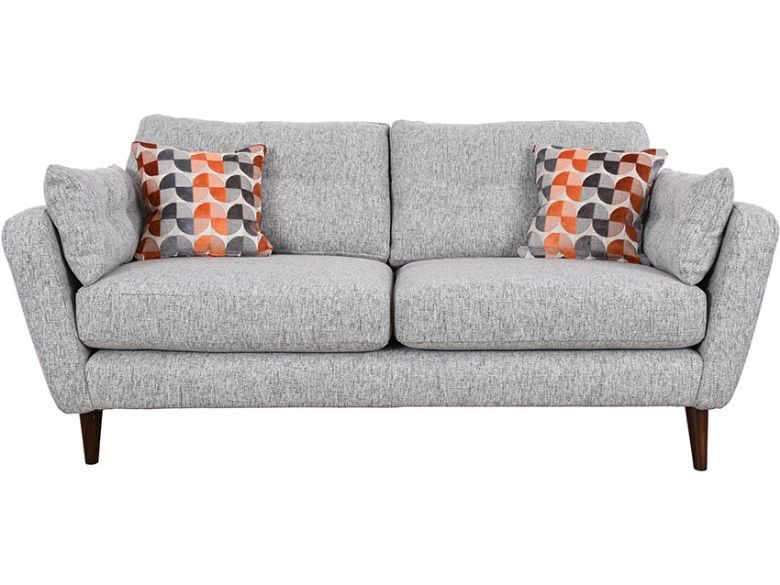 Lottie large grey contemporary sofa available at Lee Longlands
