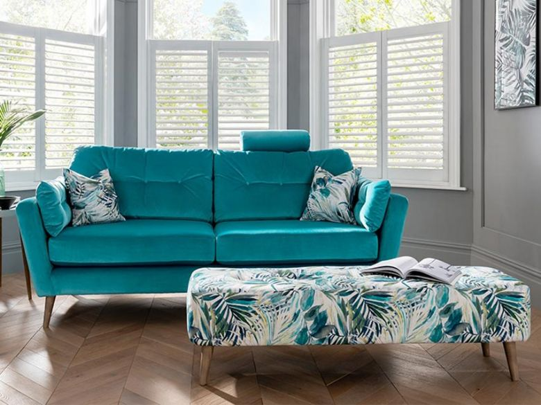 Lottie modern fabric sofas interest free credit available