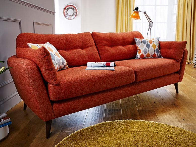 Lottie contemporary fabric sofa range finance options available