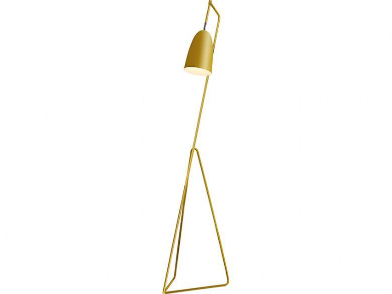 Vallen Yellow Floor Lamp