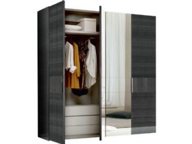 Keona 4 Door Hinged Wardrobe