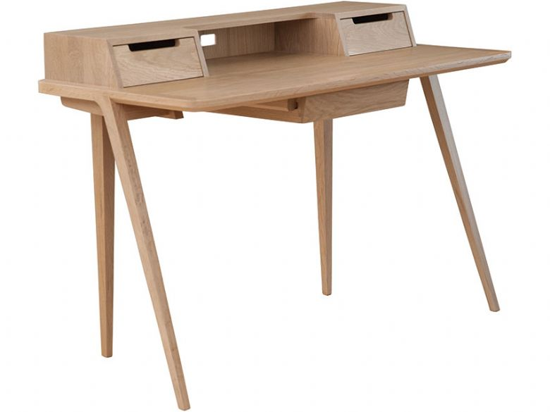 Treviso Oak Desk Side