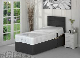 Milton Memory foam and pocket sprung electric divan set
