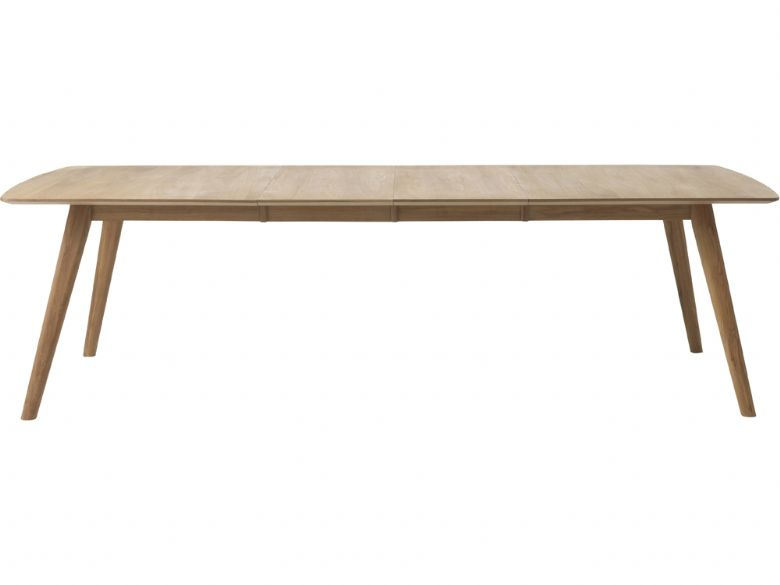 Stockholm Extending Dining Table Extended