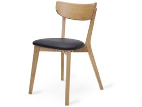 Dining Chair With Black Seat