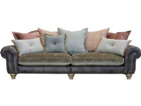 Grand Split Pillow Back Sofa