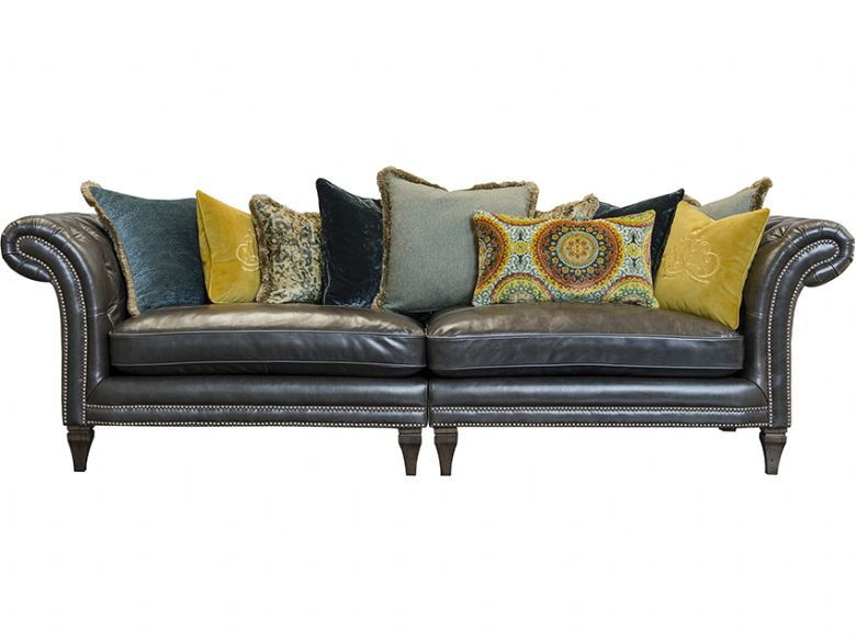 Leather Grand Split Sofa