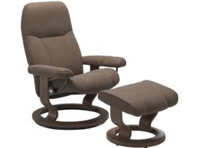 Leather Chair & Stool Promo