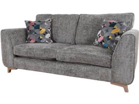 Layla contemporary grey 3 seater sofa available at Lee Longlands