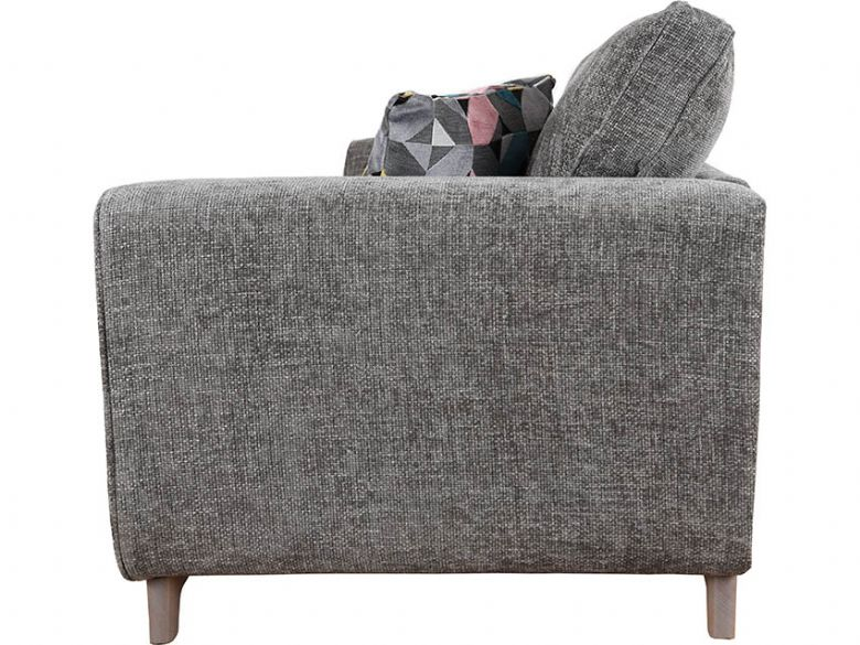 Layla grey modern 3 seater sofa finance options available