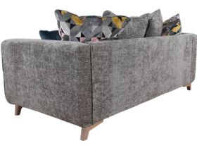 Layla grey scatter back sofa interest free credit available
