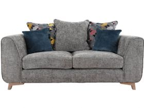 Layla Scatter Back Fabric 2 Seater Sofa