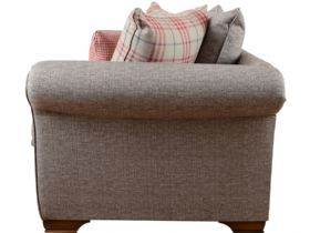 Thornaby Scatter Back Fabric 3 Seater Sofa