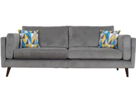 Extra Large 4 Seater Fabric Sofa