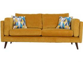 Large 3 Seater Fabric Sofa