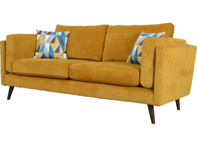 Bianca modern fabric 3 seater sofa