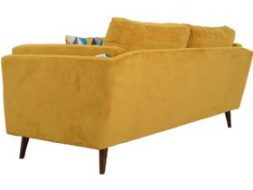Bianca modern fabric 3 seater sofa behind