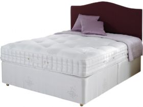 6'0 Super King Zip & Link Pocket Sprung Edge Divan & Mattress