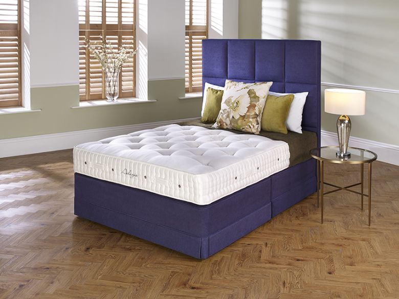 Hypnos Adagio 6'0 Super King Zip & Link Pocket Sprung Edge Divan & Mattress