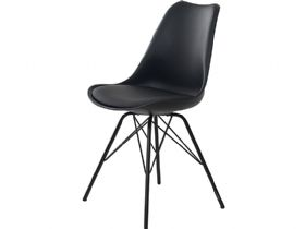 Shell Black Dining Chair