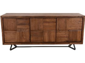 Quebec Textured Door Wide Sideboard