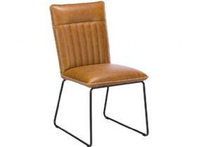 Tan Dining Chair