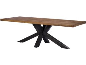 2m Central Pedestal Dining Table