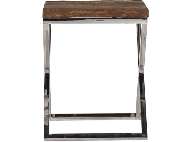 Chelsea Small X-Leg Corner Table