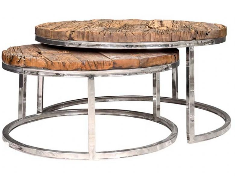 Set Of 2 Round Coffee Tables