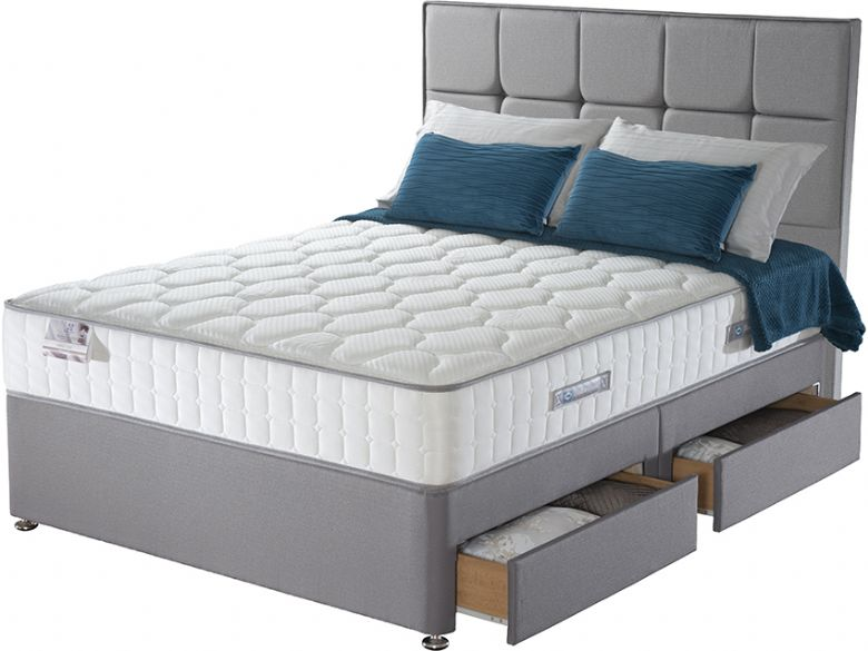 Genoa 5'0 King Size Pocket Spring Divan & Mattress