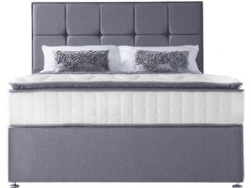 Messina 4'6 Double Pocket Spring Divan Base & Mattress