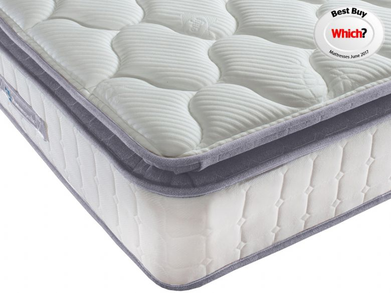 Sealy Messina 1400 3'0 Single Pocket Spring Mattress