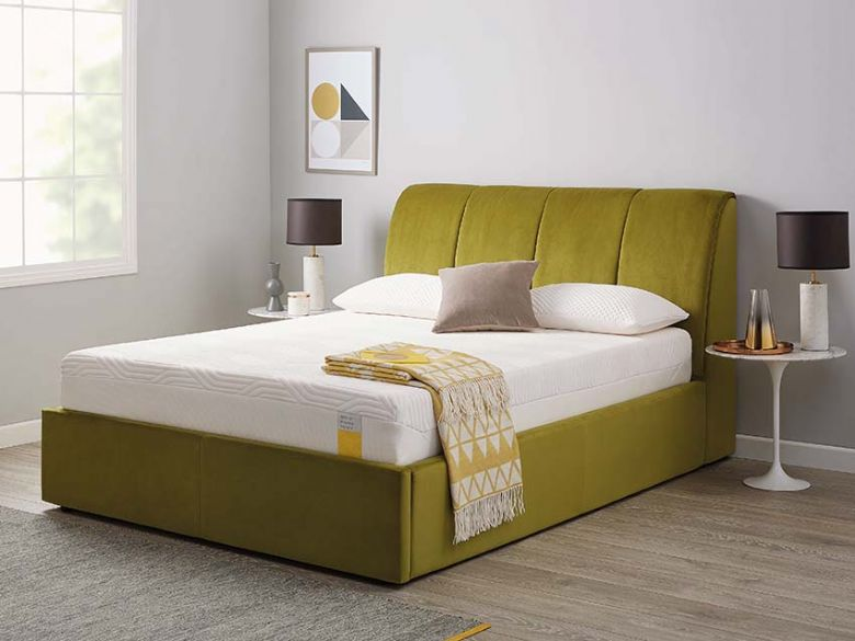 Tempur Harrington 6'0 super king size ottoman bed