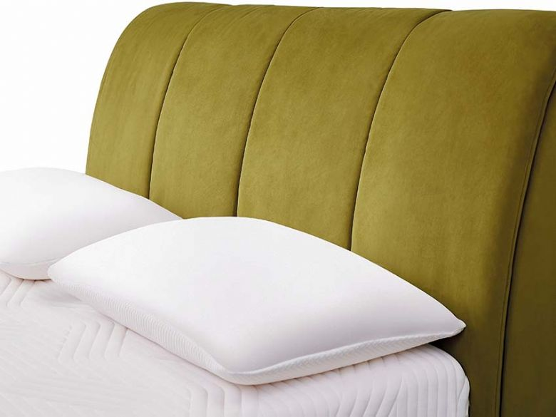 Tempur Harrington ottoman headboard