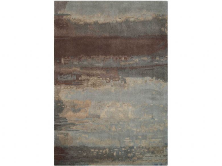 Luster Wash Chrome Rug