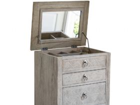 Wishland 5 Drawers Lingerie Chest Mirror
