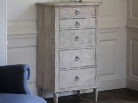Wishland 5 Drawers Lingerie Chest