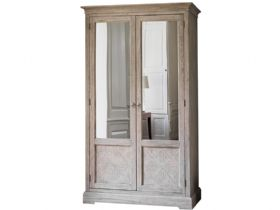 Wishland Double Wardrobe