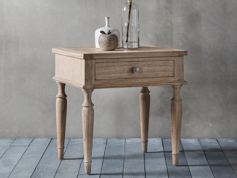 Wishland 1 Drawer Side Table