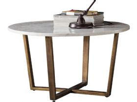 Zin Marble Round Coffee Table