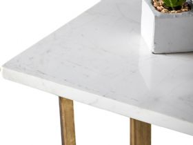 Zin Marble Console Table