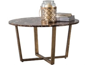 Ravelli Marble Round Coffee Table