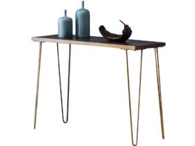 Ceramic & Metallic Console Table