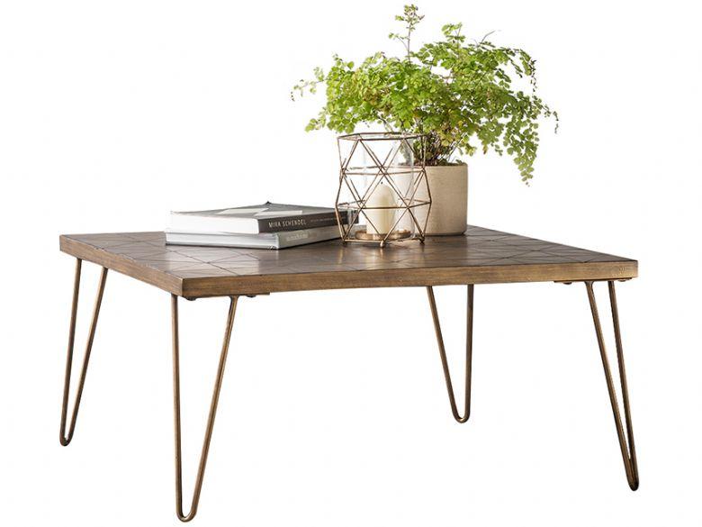 Ascot Ceramic U0026 Metallic Coffee Table
