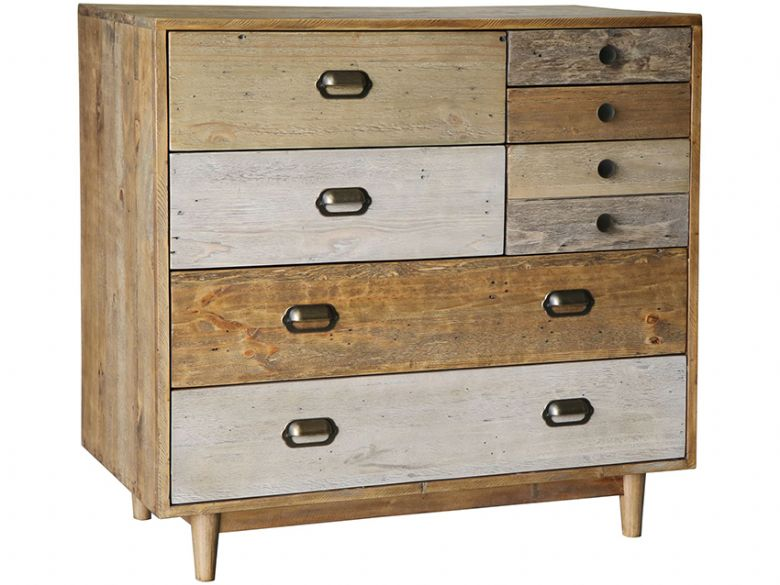 Vienna Reclaimed Pine 7 Drawer Chest