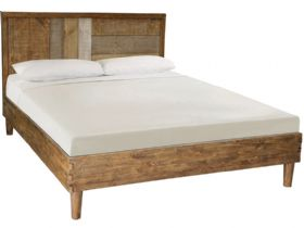 Vienna Reclaimed Pine 4'6 Double Bedframe