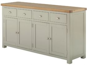 Painted 4 Door Sideboard