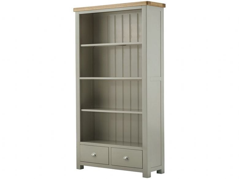 Hunningham Grand Painted Wide Bookcase with Drawers
