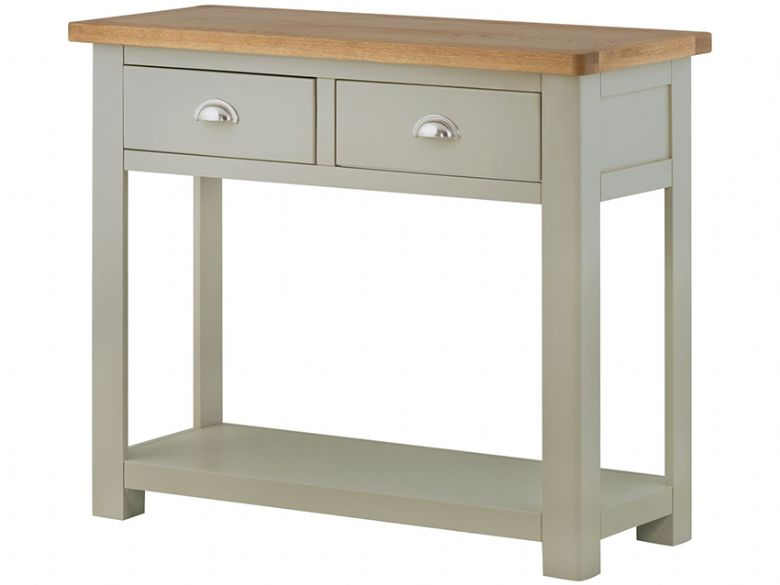 Hunningham Grand Painted Console Table with 2 Drawers