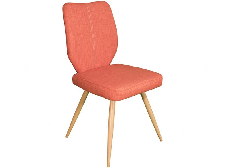 Erica Orange Dining Chair